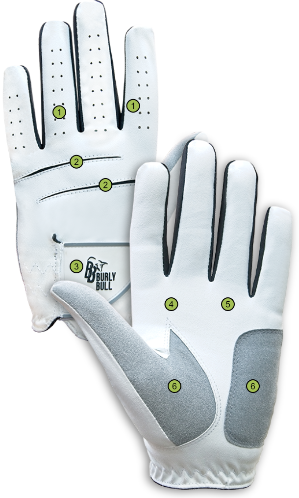 Burly Bull All Weather Golf Glove